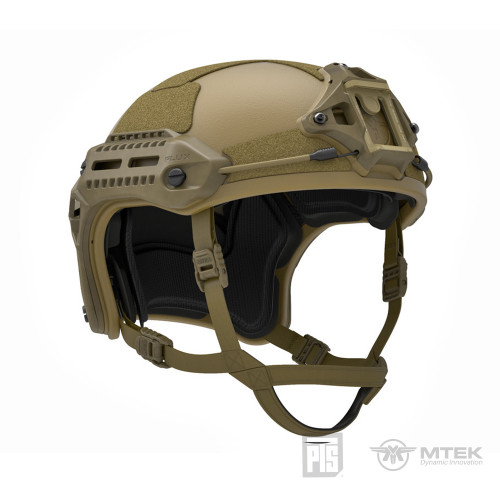 PTS MTEK FLUX HELMET DARK EARTH