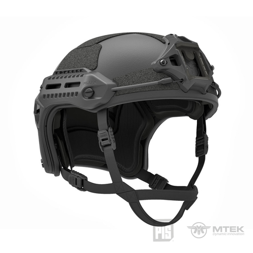 PTS MTEK FLUX HELMET BLACK