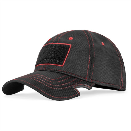 NOTCH CLASSIC ADJUSTABLE STANDARD NOTCH ATHLETE OPERATOR BLACK RED