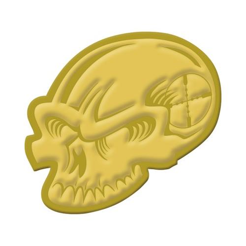 Skull Challenge Coin