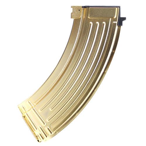 G&G 600 RND AKM MAGAZINE GOLD