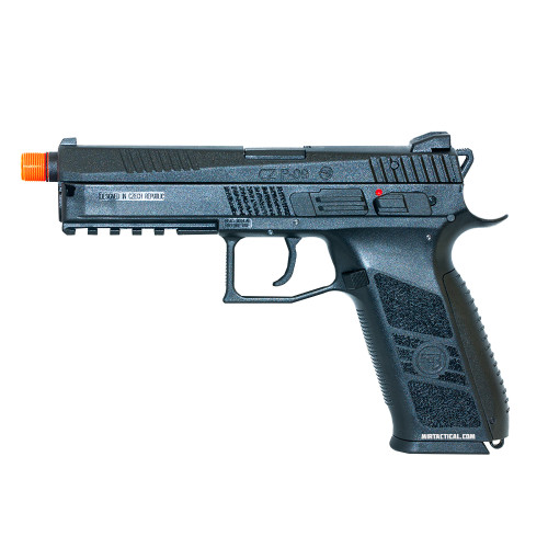 ASG CZ P-09 CO2 BLOWBACK AIRSOFT PISTOL - BLACK