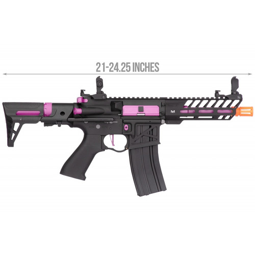 LANCER TACTICAL NEEDLETAIL PDW PURPLE AEG