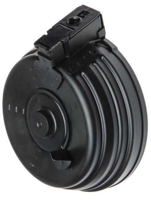 LCT RPK/AK 2000 ROUND FULL METAL DRUM AIRSOFT MAGAZINE - BLACK