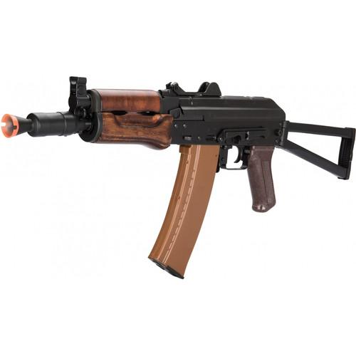 LCT AKS74U AEG W/ WOOD FOREGRIP
