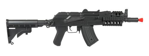 LANCER TACTICAL AKS-74U RIS AEG AIRSOFT GUN