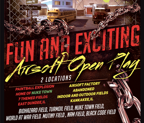 PBX Open Play 10/25/2020 AIRSOFT Sunday