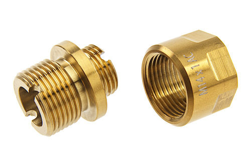 COWCOW STAINLESS STEEL ADAPTER 11MM CW TO 14MM CCW GOLD