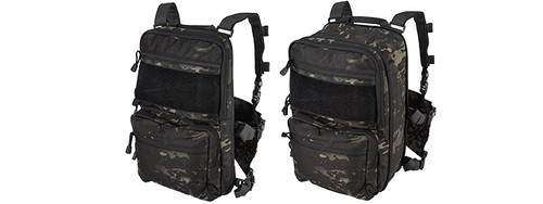 QD CHEST RIG LIGHTWEIGHT BACKPACK MULTICAM BLACK