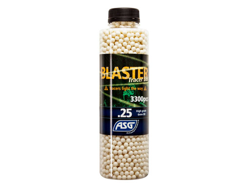 ASG BLASTER 0.25G GREEN TRACER AIRSOFT BBS - 3000 COUNT