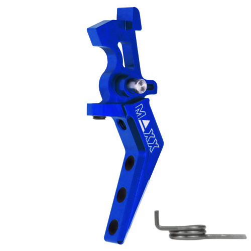 MAXX CNC ALUMINUM ADVANCED SPEED TRIGGER STYLE A - BLUE