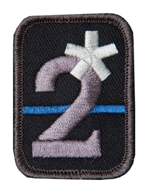 2 ASSTERISK SWAT PATCH for $5.99 at MiR Tactical