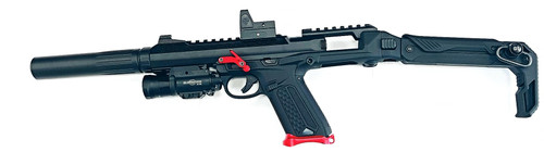 ACTION ARMY AAP-01 BLACK MAMBA ULTIMATE AIRSOFT SMG