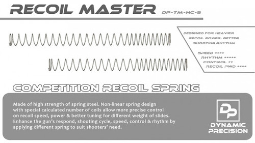 DYNAMIC COMPETITION RECOIL SPRING FOR TM HI CAPA