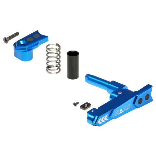 MAXX CNC ALUMINUM ADVANCED MAGAZINE RELEASE STYLE A BLUE
