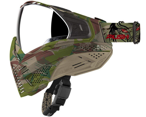 PUSH PAINTBALL UNITE MASK CAMO PREDATOR
