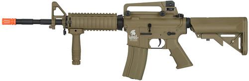 LANCER TACTICAL GEN2 M4 RIS LT-04T AIRSOFT GUN DARK EARTH AEG