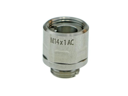 COWCOW STAINLESS STEEL ADAPTER 11MM CW TO 14MM CCW SILVER