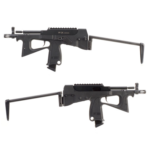 MODIFY PP-2K 2000 GAS BLOWBACK AIRSOFT SMG BLACK