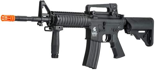 LANCER TACTICAL GEN2 M4 RIS LT-04B-G2 AIRSOFT GUN BLACK AEG