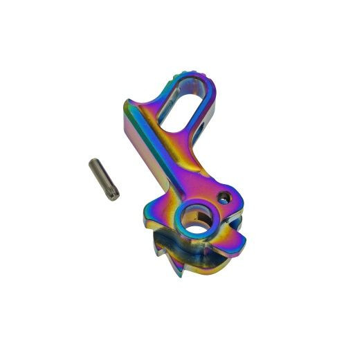 COWCOW HI-CAPA MATCH GRADE STAINLESS STEEL HAMMER RAINBOW