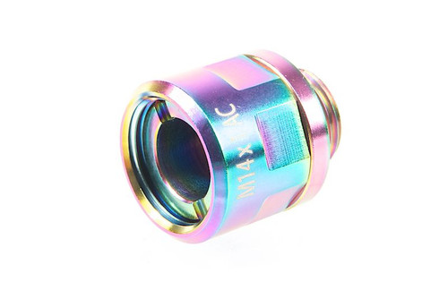 COWCOW STAINLESS STEEL ADAPTER 11MM CW TO 14MM CCW RAINBOW