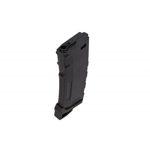 LANCER TACTICAL M4/M16 HI SPEED 130 ROUND MID CAP AIRSOFT MAGAZINE - BLACK
