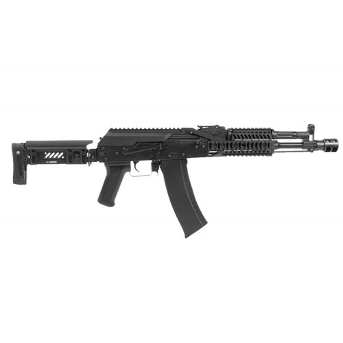 LCT STAMPED STEEL ZK SERIES AK WITH SIDE FOLDING Z SERIES STOCK  AEG - BLACK