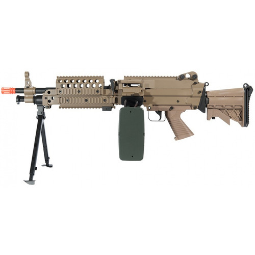 A&K M46 SAW AIRSOFT LMG AEG - TAN