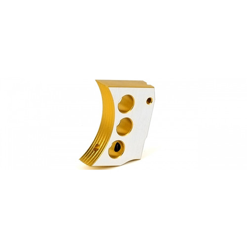 AIRSOFT MASTERPIECE CNC ALUMINUM TRIGGER TYPE 4 GOLD TWO TONE