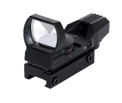 LANCER TACTICAL CA-401B RED & GREEN DOT REFLEX SIGHT 4 RETICLES
