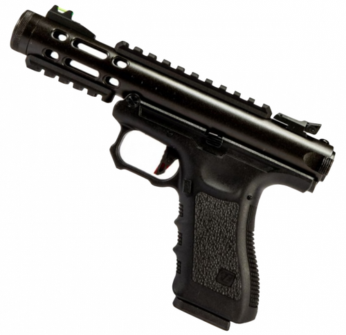 WE G SERIES GALAXY GBB AIRSOFT PISTOL BLACK