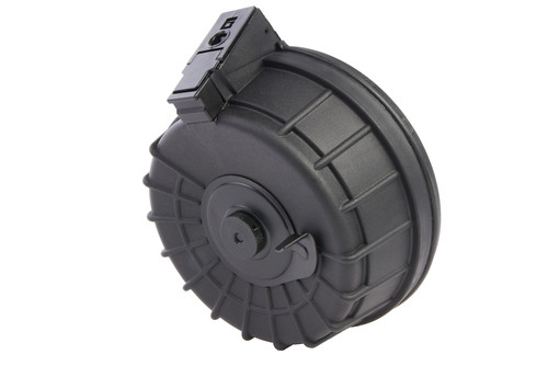LCT RPK-16 2000 ROUND FULL METAL ELECTRIC WINDING DRUM MAGAZINE RIBBED