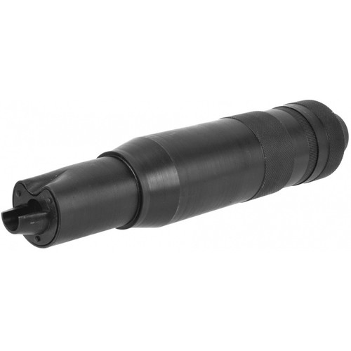 LCT PBS-4 MOCK SUPPRESSOR BARREL EXTENSION FOR AK SERIES AIRSOFT RIFLE - BLACK