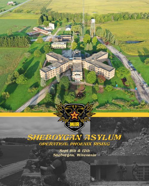 SHEBOYGAN INSANE ASYLUM 5 - 9/11/2021 9/12/2021 AIRSOFT MILSIM EVENT