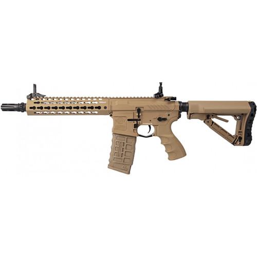 G&G CM16 SRL M4/M16 AIRSOFT SBR AEG - TAN
