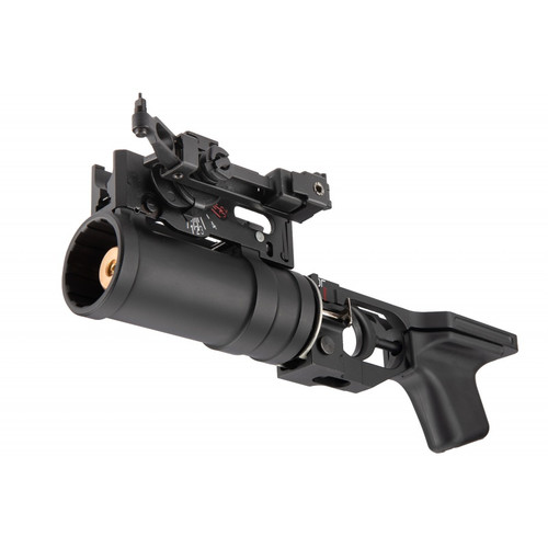 DOUBLE BELL GP-30 STYLE AK SERIES AIRSOFT GRENADE LAUNCHER BLACK
