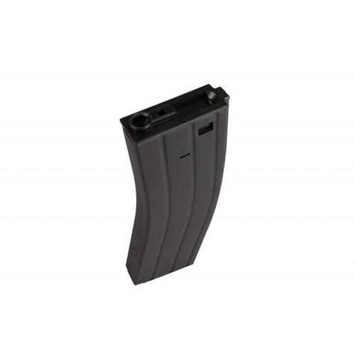 LANCER TACTICAL CA-04B HIGH CAPACITY FLASH MAGAZINE FOR M4 SERIES AEG BLACK
