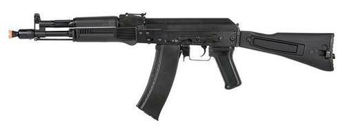 LCT AIRSOFT AK-104 ASSAULT RIFLE AEG W/ FOLDING STOCK BLACK