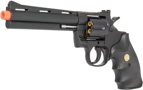 UK ARMS G36B SPRING REVOLVER PISTOL BLACK