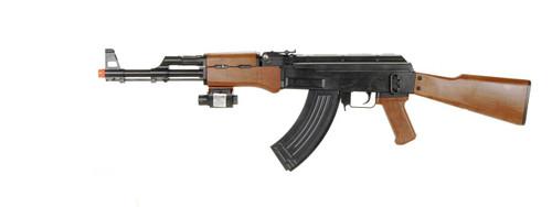UK ARMS P1147 AK-47 SPRING RIFLE WITH LASER