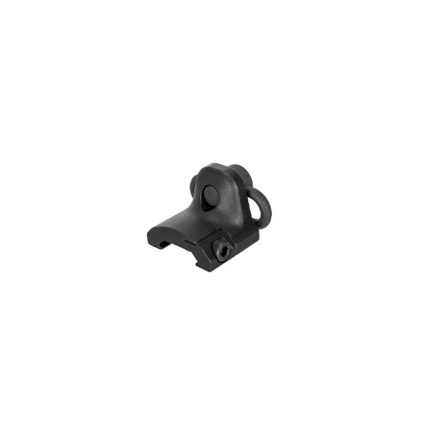 RAIL MOUNT HAND STOP SWIVEL BLACK