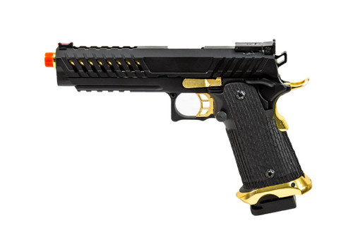 LANCER TACTICAL KNIGHTSHADE HICAPA GAS BLOWBACK AIRSOFT PISTOL - BLACK/GOLD