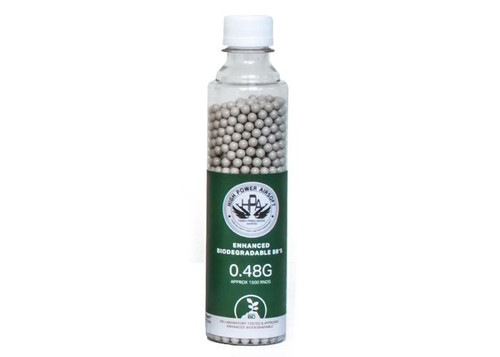 HPA 0.48G BBS BIODEGRADABLE 1500 COUNT WHITE