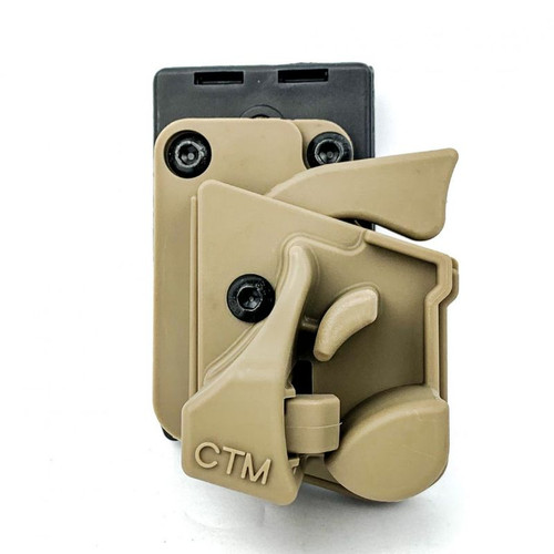 CTM SPEED HOLSTER F SYSTEM RIGHT HANDED FOR AAP-01 / WE GALAXY / GLOCK - FDE