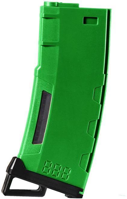LANCER TACTICAL M4/M16 HI SPEED 130 ROUND MID CAP AIRSOFT MAGAZINE - GREEN