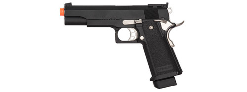 GOLDEN EAGLE HICAPA IMF 3302 OPS-M.RP GBB GREEN GAS AIRSOFT PISTOL - BLACK