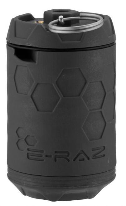 Z-PARTS ERAZ ROTATIVE 100 BB CAPACITY GREEN GAS REUSABLE AIRSOFT GRENADE - BLACK
