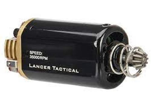 LANCER TACTICAL SHORT TYPE SUPER HIGH TORQUE 35K AEG MOTOR FOR VERSION 3 - BLACK/GOLD