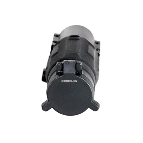 3X MAGNIFIER W/ QD MOUNT BLACK